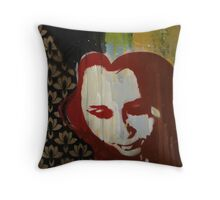 Scarlett (Black and Gold) Throw Pillow