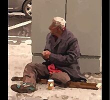 homeless ... no face - no place by SNAPPYDAVE