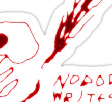 'Nobody Writes Letters Anymore' Sticker