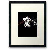 BrokenCross2 Framed Print