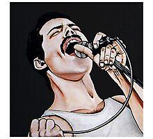 - Freddie Mercury - Photographic Print