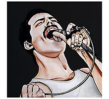 - Freddie Mercury - Photographic Print