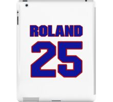 National baseball player Jim Roland jersey 25 iPad Case/Skin