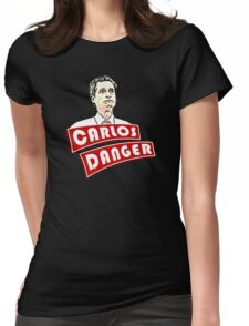Carlos Danger aka Anthony Weiner T-Shirt Womens Fitted T-Shirt