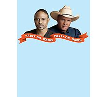 Party On, Wayne Brady. Party On, Garth Brooks. Photographic Print