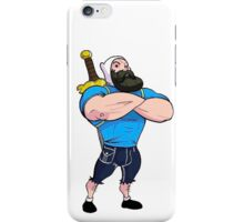 Adventure Time: Finn bearded iPhone Case/Skin