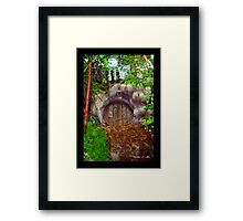 THE HOBBIT HOUSE Framed Print