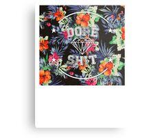 Dope Sh*t - floral Metal Print