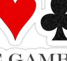 The Gambler Sticker