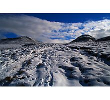 Snowy Slopes Photographic Print