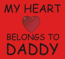 MY HEART BELONGS TO DADDY One Piece - Long Sleeve