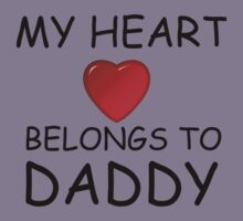 MY HEART BELONGS TO DADDY Kids Clothes