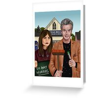Twelfth & Clara Greeting Card