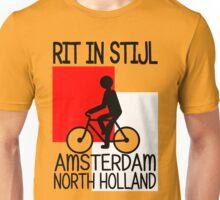 AMSTERDAM, NORTH HOLLAND-RIT IN STIJL Unisex T-Shirt