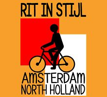 AMSTERDAM, NORTH HOLLAND-RIT IN STIJL Unisex T-Shirt