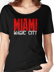 Miami Magic City 305 Wynwood South Beach Women's Relaxed Fit T-Shirt