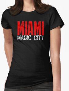 Miami Magic City 305 Wynwood South Beach Womens Fitted T-Shirt