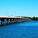 Bribie Bridge by bribiedamo