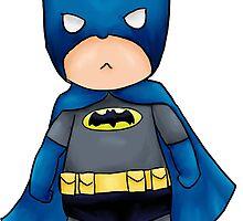 Chibi DC Comics Batman by amufujibioshi