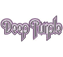Deep Purple Photographic Print