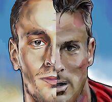 Debuchy & Giroud by ArsenalArtz