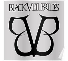 Black Veil Brides Logo Poster