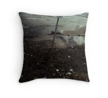 "Beach (from the ""We win"" series) Throw Pillow"