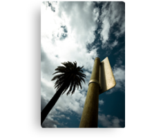 "Palm tree (from the ""We win"" series) Canvas Print"