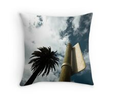 "Palm tree (from the ""We win"" series) Throw Pillow"