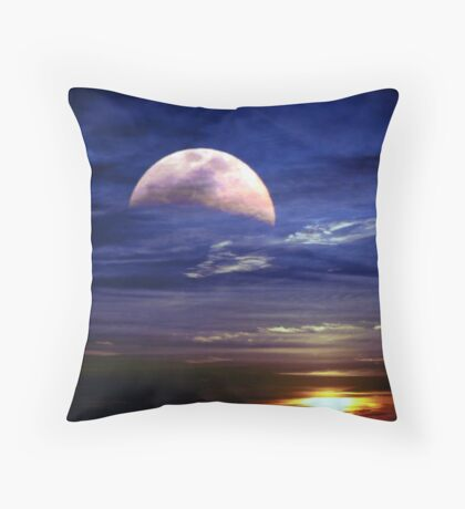Together at last. Throw Pillow