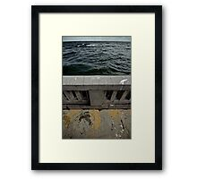 "Sea (from the ""We win"" series) Framed Print"
