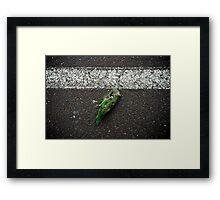 "Bird (from the ""We win"" series) Framed Print"