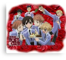 Ouran Cast Canvas Print