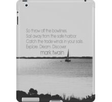 Mark Twain Explore iPad Case/Skin