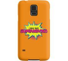 Superhero comic funny quote Samsung Galaxy Case/Skin
