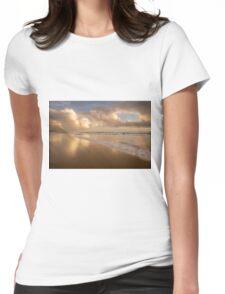 Winning Gold _ Coolum Beach Womens Fitted T-Shirt