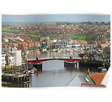 Harbour View, Whitby Poster