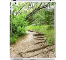 peaceful walk iPad Case/Skin