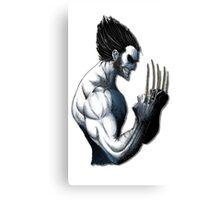 The Wolverine Blue  Canvas Print