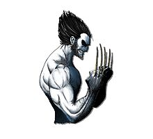 The Wolverine Blue  Photographic Print