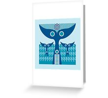 whale tails Greeting Card