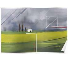 Geometrical Landscape I Poster