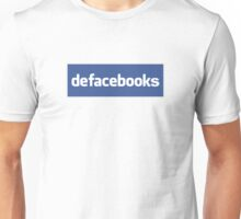 Defacebooks Unisex T-Shirt