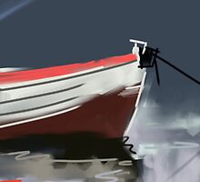 Fishermans boat deconstruction by Charlize Cape