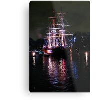 The Columbia_Refection upon the Waters of Time Metal Print