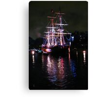 The Columbia_Refection upon the Waters of Time Canvas Print