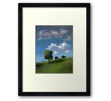 Highspeed landscape I Framed Print