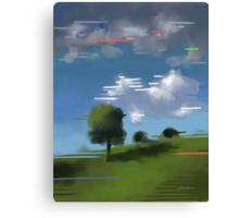 Highspeed landscape I Canvas Print