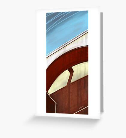 Sun on concrete arc I Greeting Card