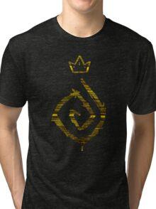True Detective - yellow king Tri-blend T-Shirt